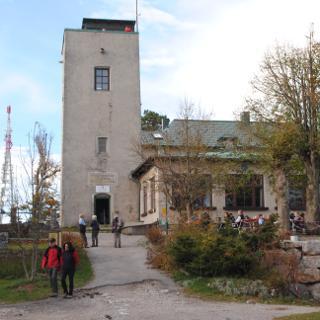 Schutzhaus Eisernes Tor mit Sinawarte