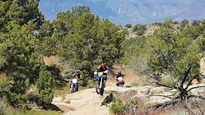 Fort Sage OHV Area Photo of Riders on Trail 15
