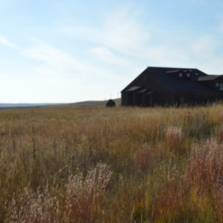 Visitor Center on the Prairie