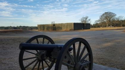 Historic Site of Camp Sumter Civil War Military Prison at Andersonville