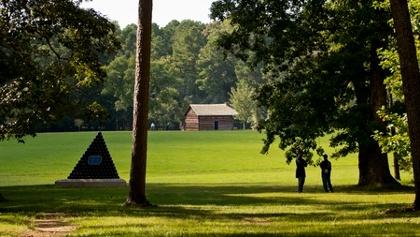Kelley Cabin on Chickamauga Battlefield