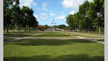 Lawn at American Memorial Park