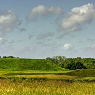 Great Temple and Lesser Temple Mound