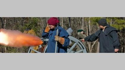 Artillery Demonstration at Moore's Creek