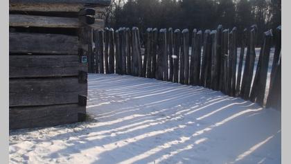 Fort Necessity in Winter