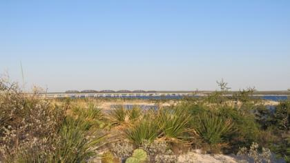 View of Amistad National Recreation Area from The Diablo East Nature Trail