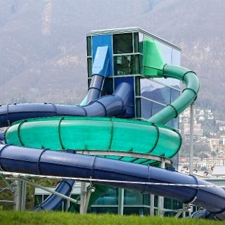 Badekomplex «Lido Locarno».