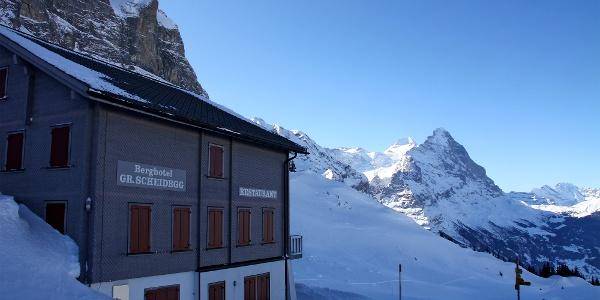 Berghotel Grosse Scheidegg.