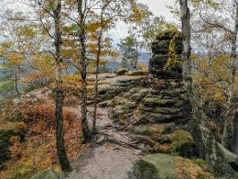 Foto Der Aussichtspunkt westlich des Friensteins