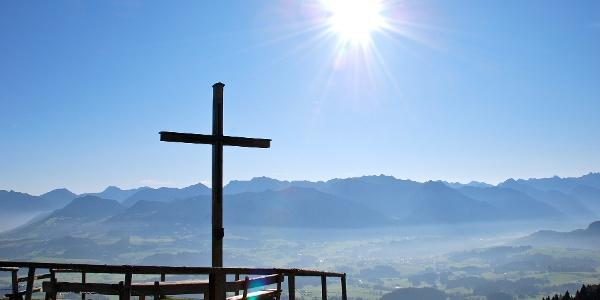 Gipfelkreuz am Ofterschwanger Horn