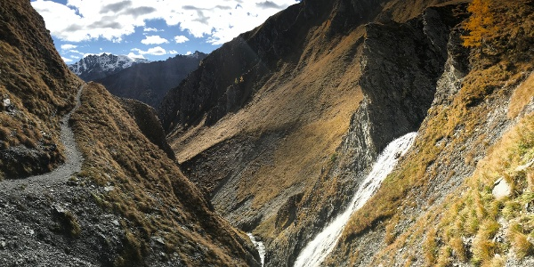 Planer Salaas, Wasserfall