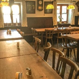 Gaststube im Gasthaus Steidl