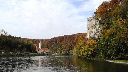 Herbst in der Weltenburger Enge