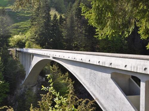 Weltmonument Salginatobelbrücke - Historischer Rundpfad