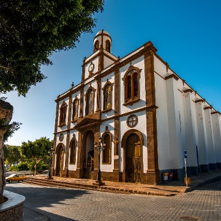 Church of the Concepcion in Agaete
