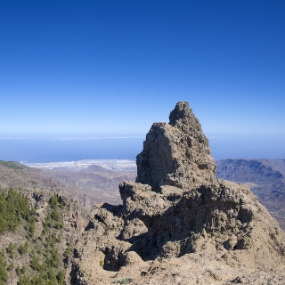 View from Pico de las Nieves
