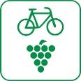 Routenlogo für den Radweg Deutsche Weinstrasse