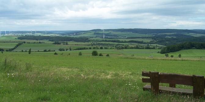 Prümer Land Tour Route 3 östliche Kalkmulde Wanderung