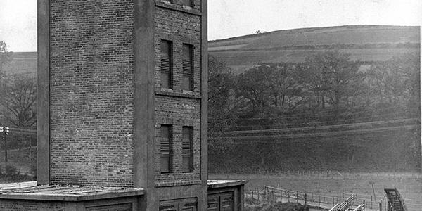 Kulturweg-Grevenbrück - Feuerwehrturm um 1932