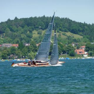 Blick von der Insel nach Allensbach
