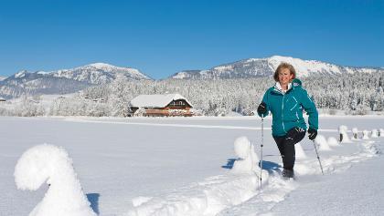 Schneeschuhwanderung in Abtenau