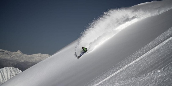 Freeriding Davos Klosters