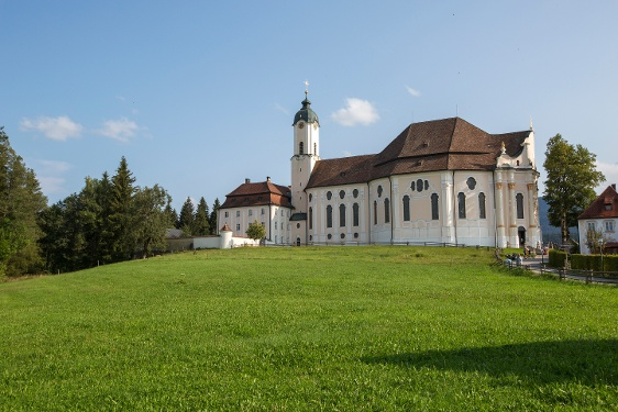 Cycle tour – Wieskirche Church route