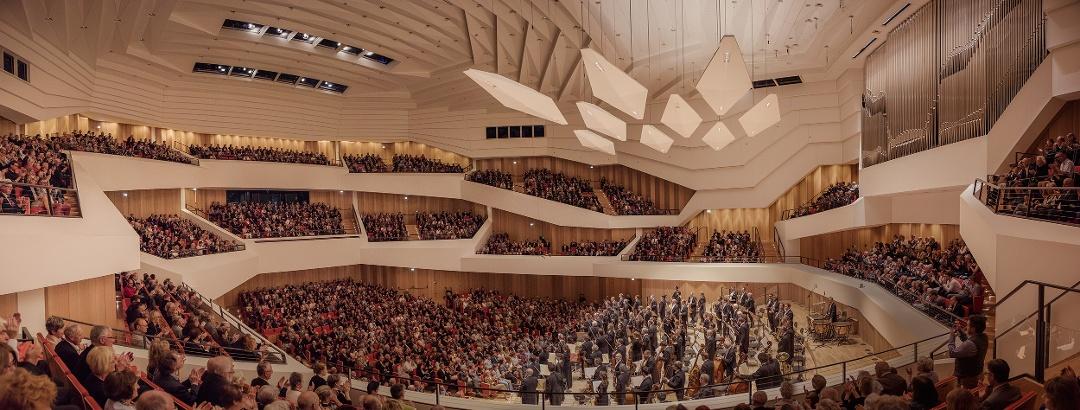 Der neue Konzertsaal im Dresdner Kulturpalast
