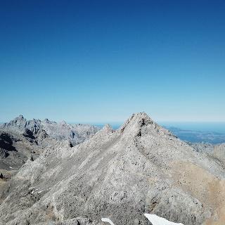 Lufaufnahme des Pico Tesorero
