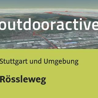 Trailrunning-Strecke in Stuttgart und Umgebung: Rössleweg