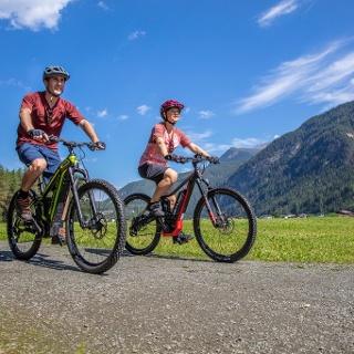 E-Biken in Längenfeld