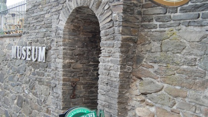 Eingang an der ehemaligen Stadtmauer von Reichenbach