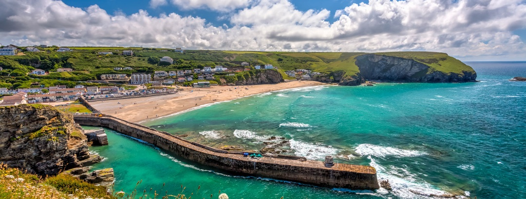 Cornwall: Lebhafte Nordküste Padstow nach St. Ives