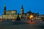 Foto Die Katholische Hofkirche in Dresden