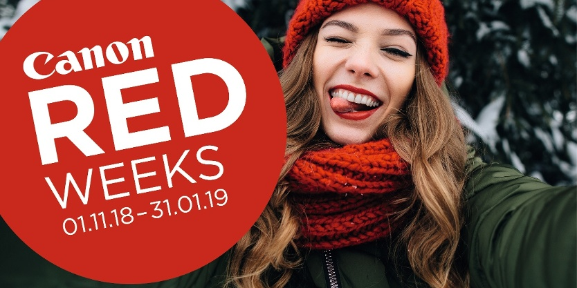 Canon Red Weeks Angebot