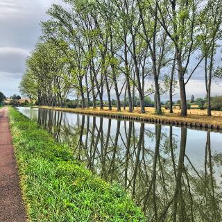 Entlang vom Canal de Nivernais