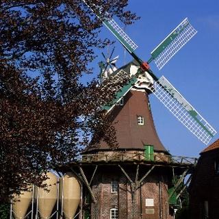Holländerwindmühle in Horsten