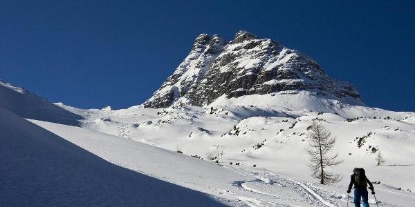 Aufstieg zum Skihörndl