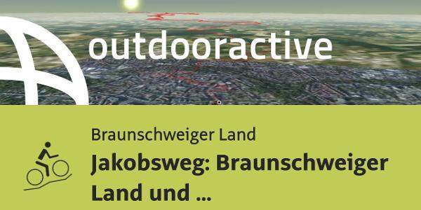 Mountainbike-tour im Braunschweiger Land: Jakobsweg: Braunschweiger Land und Leinebergland von ...