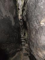 Foto In der Klufthöhle des Hinteren Raubschlosses