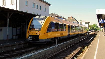 Bahnhof Marktredwitz mit Oberpfalzbahn