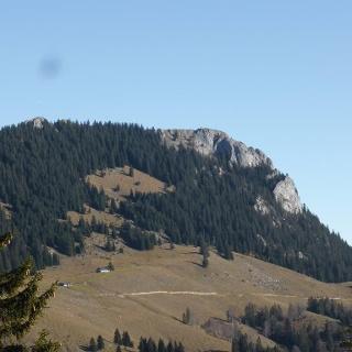 Brünnstein von der Untersbergalm