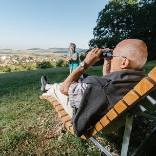 Weiter Blick über das Thalmässinger Umland