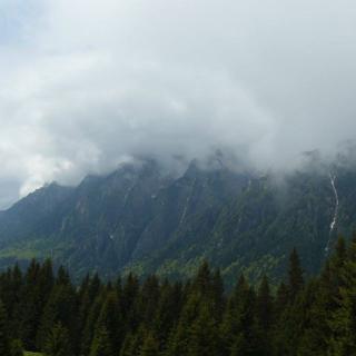 Bucsecs-hegység szakadékos oldala