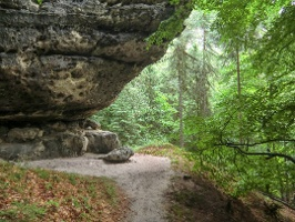 Foto Wilde Felsen am Goldsteig