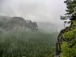 Foto Stimmungsvolle Aussicht auch bei schlechtem Wetter