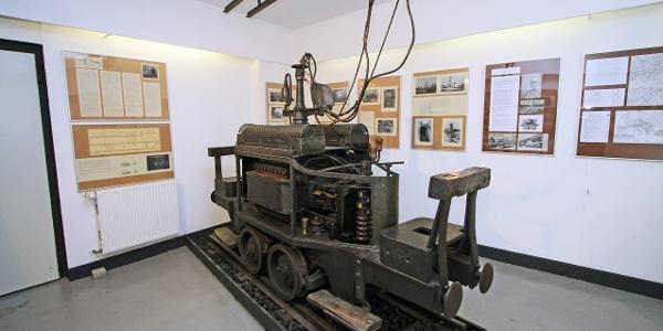 """Die erste elektrische Grubenlock """"Dorothea"""""""
