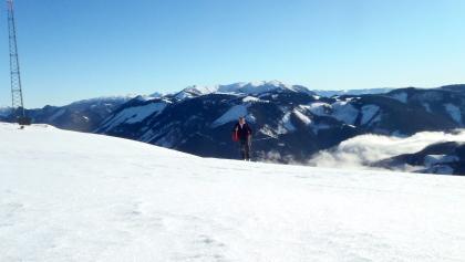 Blick vom Gipfel Richtung Schneealm