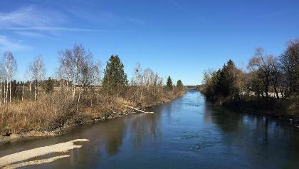 Loisachbrücke bei Kochel
