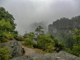 Foto Die Aussicht vom Winterstein ist bei jedem Wetter reizvoll